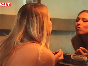 LETSDOEIT - Afterparty hookup With torrid girly-girl teenagers