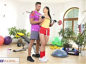 sport rooms xxx gym romping and facial