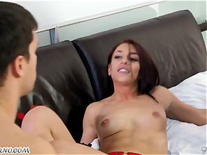 big-titted mummy Cherie DeVille wants fuck-fest with her hubby and his best acquaintance Mischa Brooks