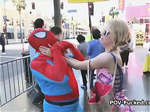 ash-blonde spinner luvs a supreme cocking on vacation