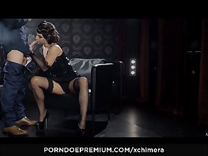 xCHIMERA - Amirah Adara creampied in fetish hookup vignette