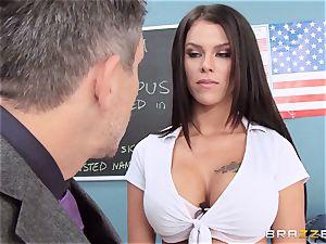sloppy college girl Peta Jensen tears up the lucky dean